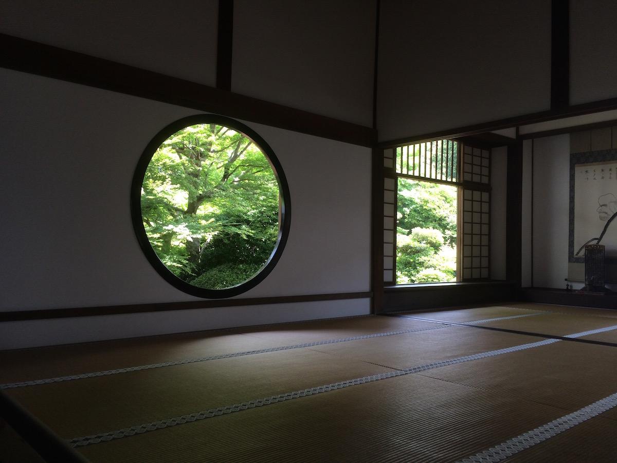 京都の庭園で「間(ま)」を学ぶ